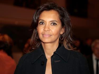 La présentatrice  Karine Le Marchand le 20 février 2019, à Paris