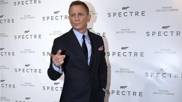 """Daniel Craig à la première française de """"007 Spectre"""" à Paris le 29 octobre 2015"""