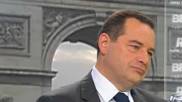 Jean-Frédéric Poisson, invité de BFMTV, ce vendredi