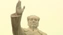 Statue de Mao Zedong à Kashgar, en Chine.