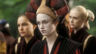 Keira Knightley dans Star Wars