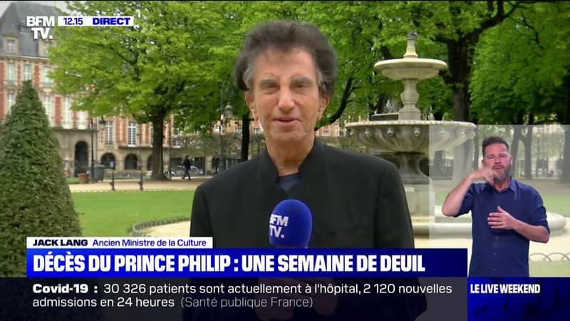 """Mort du prince Philip: Jack Lang garde le souvenir d'un """"homme d'une grande allure"""""""