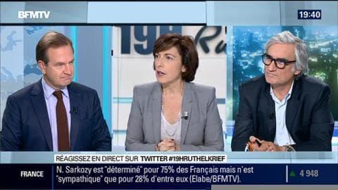 Guillaume Roquetteface à Maurice Szafran: Nicolas Sarkozy et Manuel Valls se disputent l'autorité