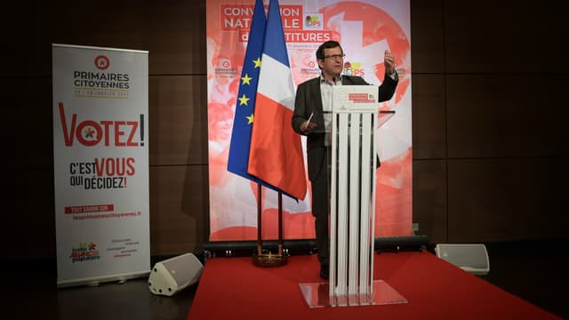 Le président du comité d'organisation de la primaire de la gauche, Christophe Borgel, le 17 décembre à Paris.