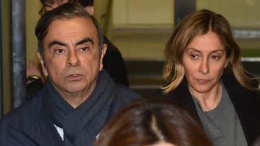 La seconde épouse de Carlos Ghosn occupe le devant de la scène depuis la semaine dernière, et la nouvelle incarcération de son mari.