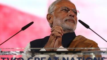 Narendra Modi devrait bénéficier politiquement des bons chiffres de la croissance indienne.