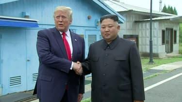 """Ce moment où Trump déclare qu'il """"inviterait"""" Kim Jong Un à la Maison Blanche, après leur rencontre en Corée du Nord"""