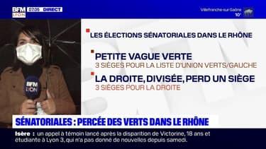 Sénatoriales: percée des écologistes dans le Rhône avec deux sénateurs Verts élus