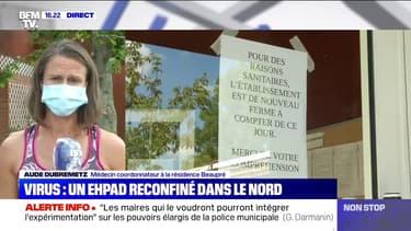 """Ehpad reconfiné dans le Nord: """"11 cas parmi les résidents et cinq cas parmi le personnel"""""""
