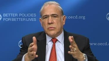 Jose Angel Gurria reconnaît que l'avenir immédiat de la zone euro n'est pas rose mais elle en sortira renforcée