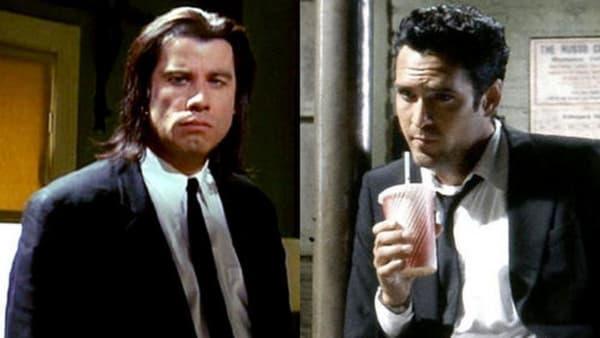 John Travolta et Michael Madsen chez Tarantino