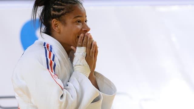 Fanny-estelle Posvite, médaillée de bronze aux Mondiaux d'Astana en -70 kg