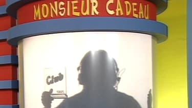Monsieur Cadeau dans le Club Dorothée