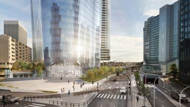 275.000 m² de bureaux ont été commercialisés l'an dernier à La Défense.