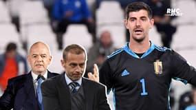 """Ligue des Nations : """"L'UEFA ne pense qu'à l'argent"""", la nouvelle colère de Courtois"""