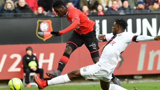 Un match entre Rennes et Guingamp