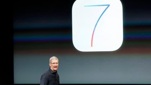 Les aficionados d'Apple déplorent un temps de téléchargement très long d'iOS7.