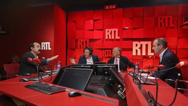 Laurent Berger (à gauche) et Philippe Martinez, ont débattu sur RTL ce lundi soir.