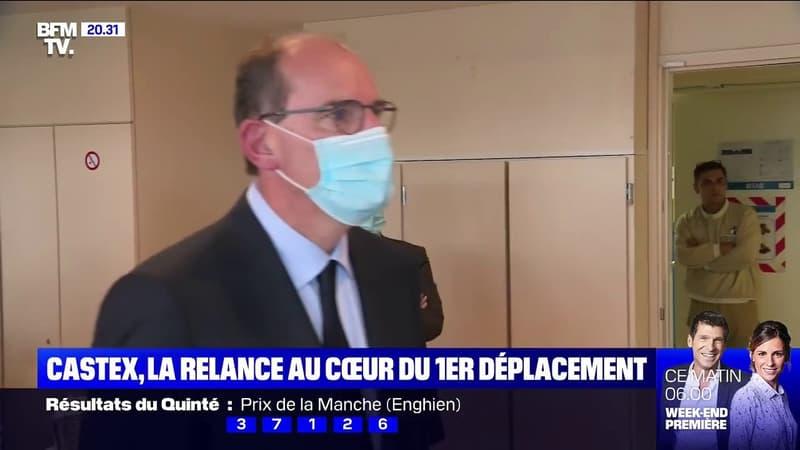 La relance au cœur du premier déplacement du Premier ministre Jean Castex