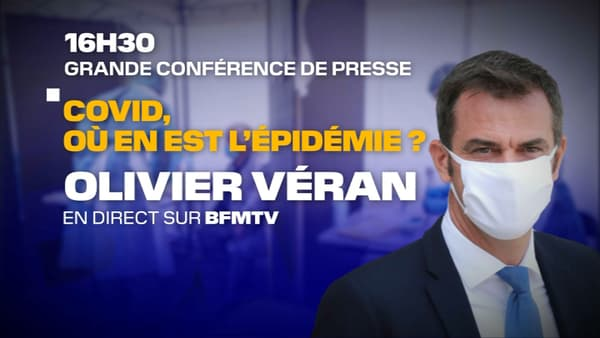 Olivier Véran tiendra une conférence de presse le 17 septembre 2020.