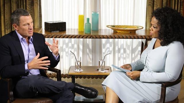 Lance Armstrong avec Oprah Winfrey