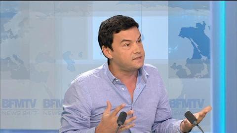 """Crise grecque: """"Il y a une folie idéologique à Berlin, mais à Paris aussi"""", dénonce Thomas Piketty"""