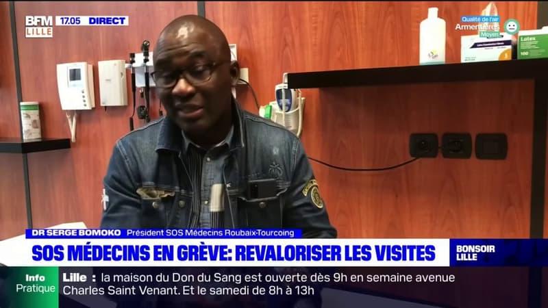 Hauts-de-France: SOS Médecins en grève pour alerter sur la disparition de la visite à domicile