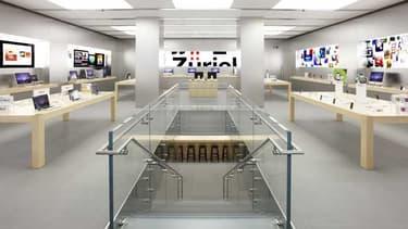 Une batterie d'iPhone en surchauffe a provoqué une fumée qui a contraint à évacuer les clients de l'Apple Sore de Zurich