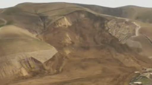 Le glissement de terrain  a eu lieu dans la province du Badakhshan, au nord-est de l'Afghanistan