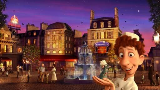 Ratatouille doit donner un coup de fouet à la fréquentation de Disneyland.