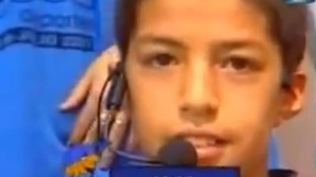 Luis Suarez à dix ans