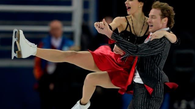 Nathalie Péchalat et Fabian Bourzat