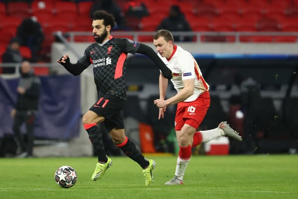 Mohamed Salah contre Leipzig