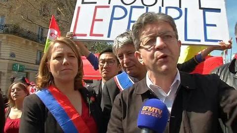 Manifestation contre l'austérité: des dizaines de milliers de Français dans les rues