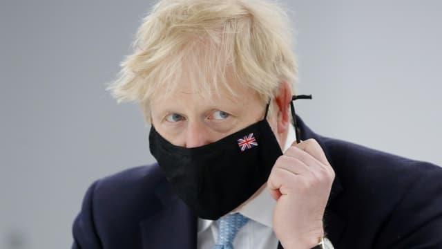 Le Premier ministre britannique Boris Johnson, le 7 mai 2021 à Coventry (photo d'illustration)