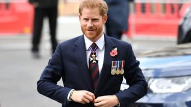 Le prince Harry le 25 avril 2019