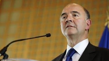 Pierre Moscovici, le ministre de l'Economie