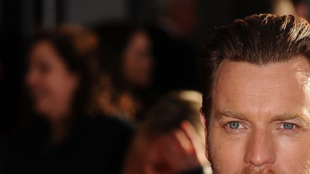 L'acteur écossais, Ewan McGregor.