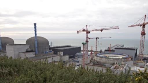 EDF doit construire deux EPR dans le sud-ouest de la Grande Bretagne. Ici, celui de Flamanville.