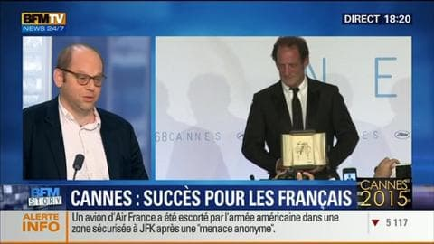 Le cinéma français a eu du succès au Festival de Cannes