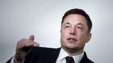 Elon Musk, dirigeant du fabricant automobile Tesla et de SpaceX