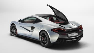 Puissante et spacieuse, la McLaren 570 GT se veut votre meilleur compagnon de voyage ... de luxe.