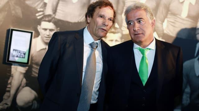 Roland Romeyer et Bernard Caïazzo