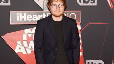 Ed Sheeran le 5 mars 2017 à Inglewood en Californie