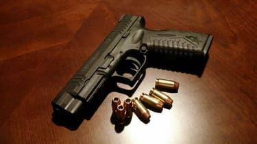 En 2013, plus de 300 millions d'armes à feu circulaient aux Etats-Unis (image d'illustration)