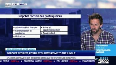 Vous recrutez : Popchef / Pretto - 17/06