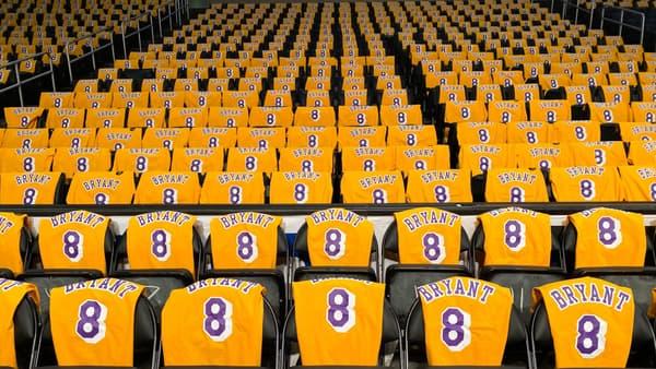 L'hommage des Lakers à Kobe Bryant, le 31 janvier 2020