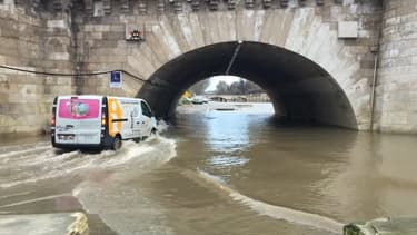 De nombreux quartiers autour de la Seine sont vulnérables en cas de crue.