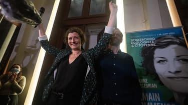 L'écologiste Jeanne Barseghia élue maire de Strasbourg.