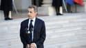 Nicolas Sarkozy à l'Elysée dimanche 15 novembre